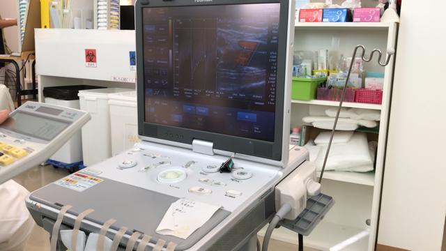 人工透析シャント血管の状態を知るシャントエコー